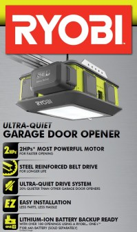 Ryobi Ultra-Quiet Garage Door Opener Model GD 200 - VIP Outlet