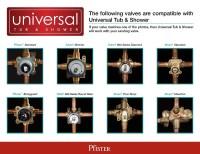 Pfister Universal Single
