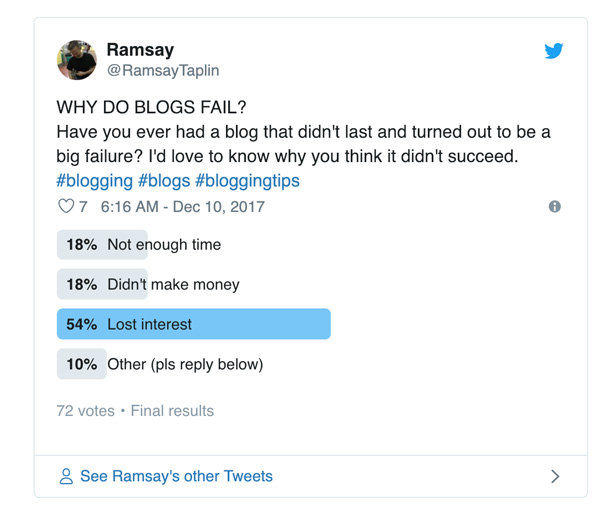 Why-people-quit-blogging-poll