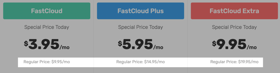 Fastcomet High Rnewal Price