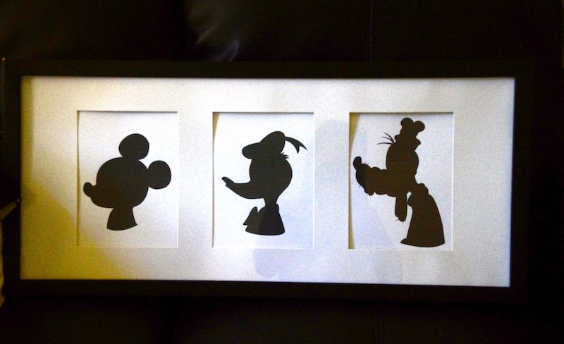 Downloadable Disney Mickey Donald And Goofy Silhouettes In Literature