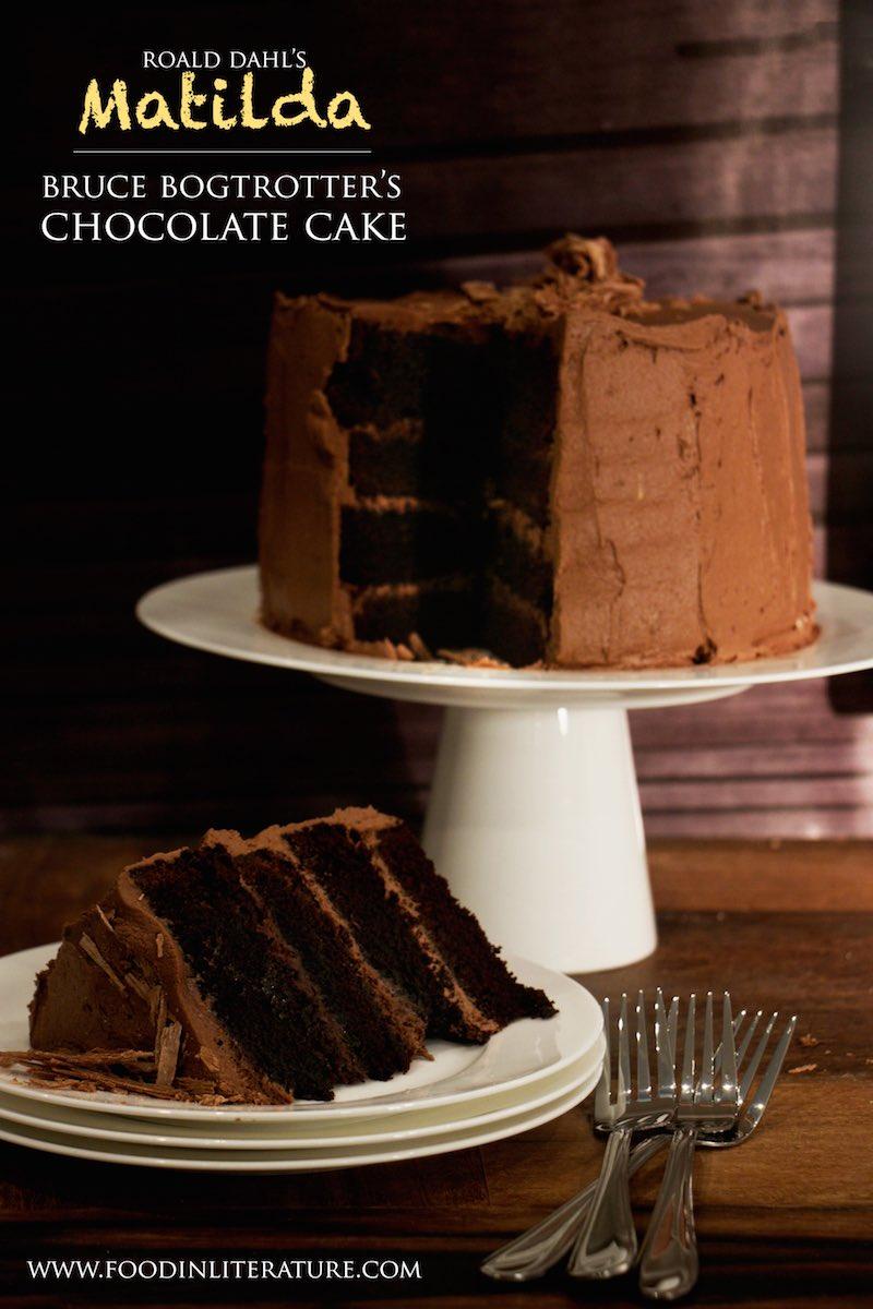 Bruce Bogtrotter S Chocolate Cake Matilda In Literature