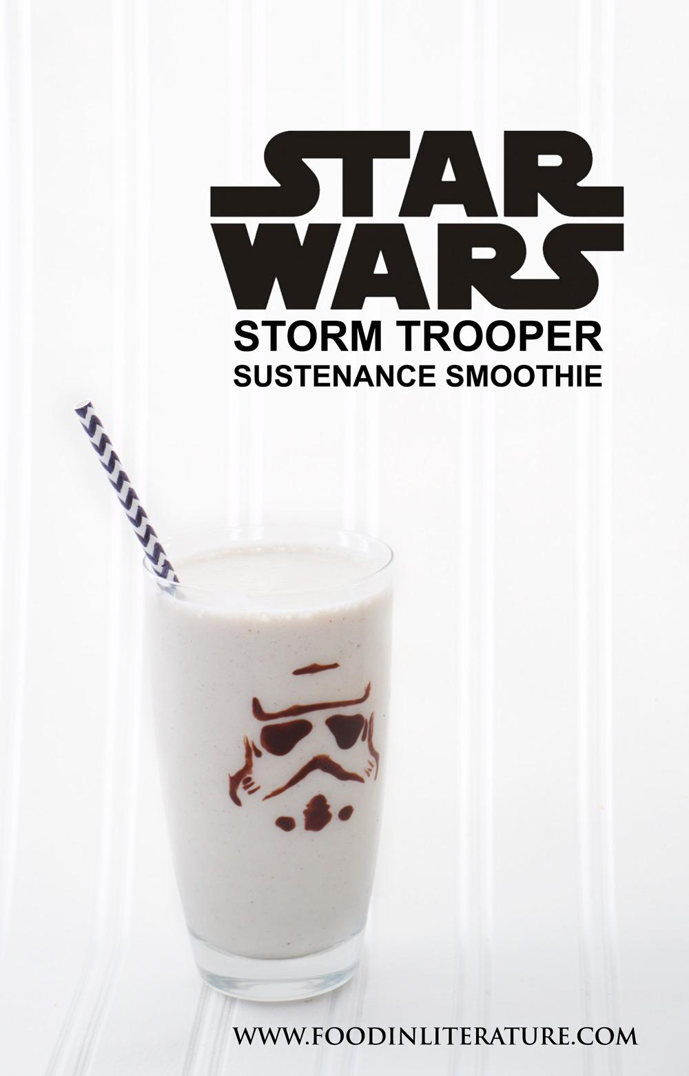 Star Wars Storm Trooper Sustenance Smoothie  In Literature