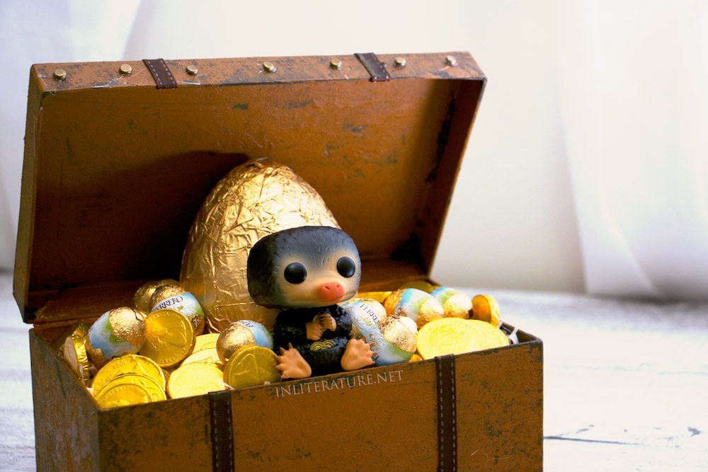 Niffler Easter basket  Fantastic Beasts and Where To Find