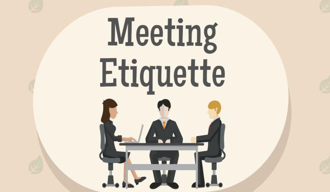 نتيجة بحث الصور عن meetings Etiquette