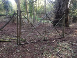 the gate to nowhere
