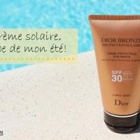 Crème Solaire Dior - Qu'importe le flacon, pourvu qu'on ait la protection!