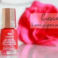 Mavala - Cuzco, le vernis rouge qui groove!