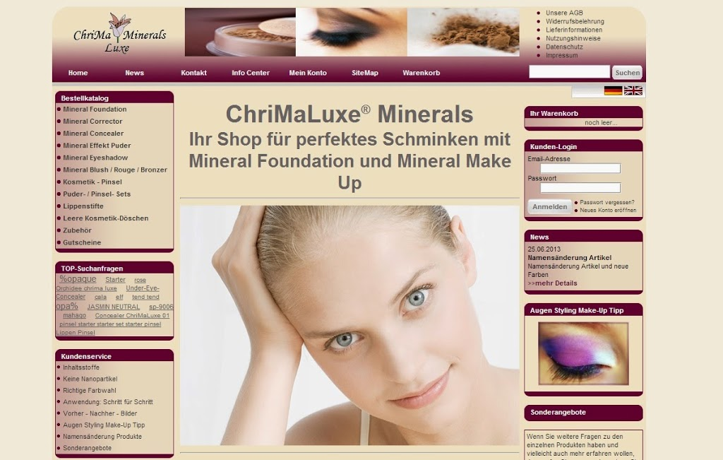 ChriMaLuxe Minerals Pinsel