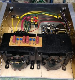 step up transformer amplifier the movie  [ 1027 x 800 Pixel ]