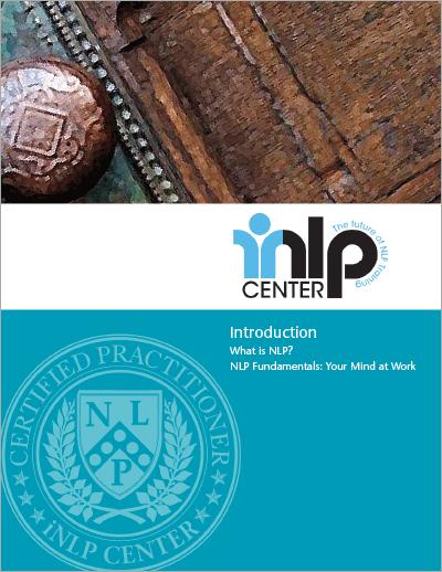 NLP Certification Training Module 1