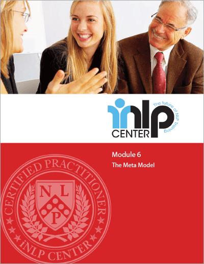 NLP Certification Training Module 6