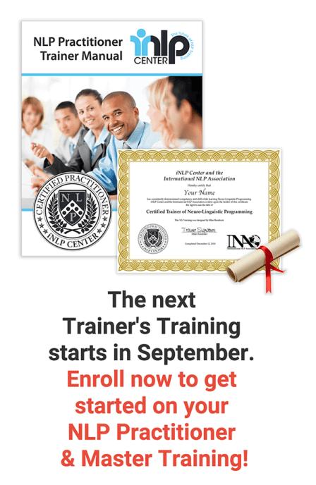 NLP Trainer's Training Online