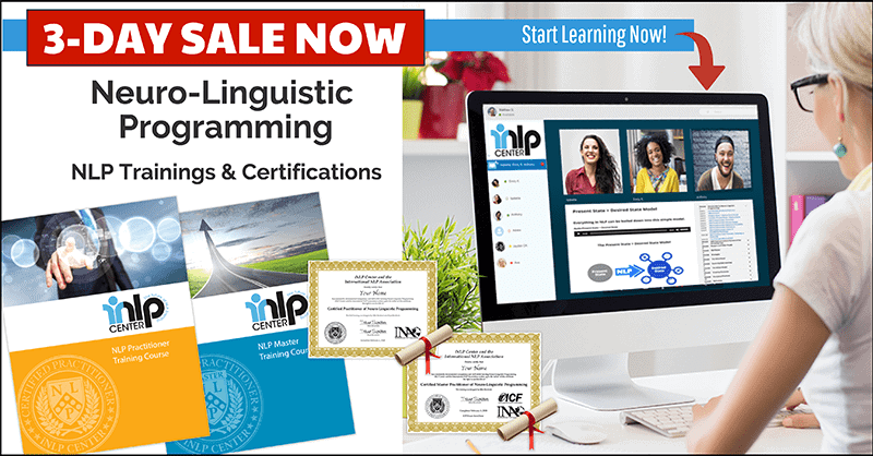 NLP Training on sale banner