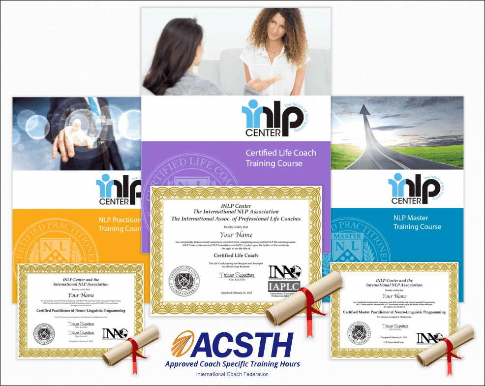 NLP Life Coach Training ICF ACSTH