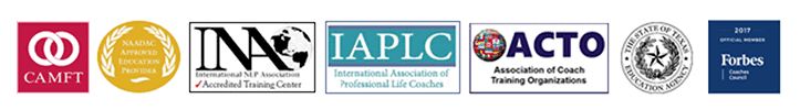 NLP Training and Life Coach Training Accreditations