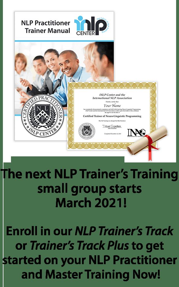 NLP Trainer's Training
