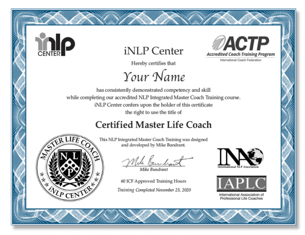 ACTP Master Coach Training Upgrade from Standard Track