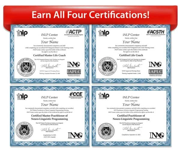 ACTP Master Coach Training Upgrade from NLP Combo