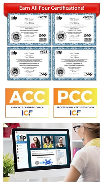 Life Coach Certification ACC and PCC Credentials and Online Classroom