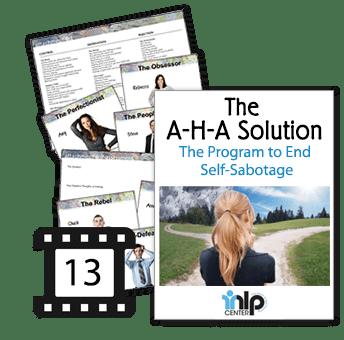 AHA Solution Self-sabotage program