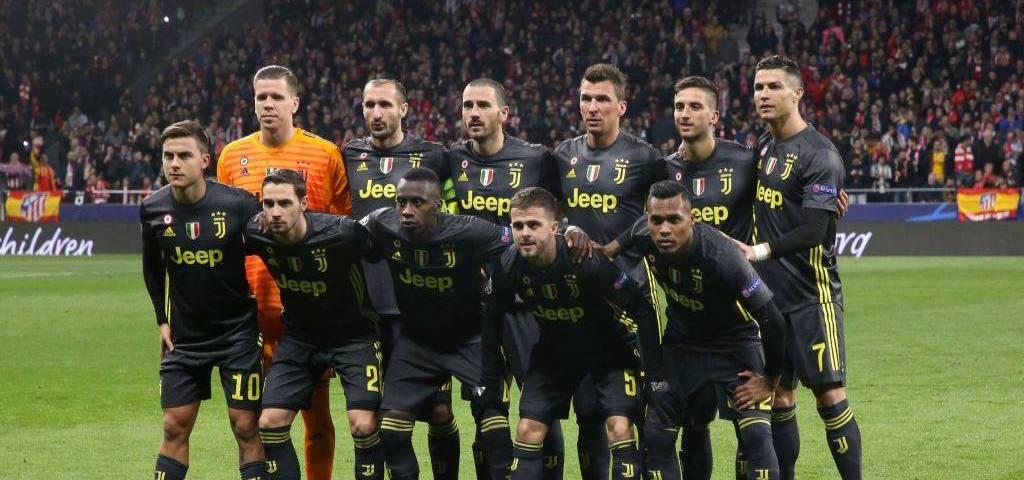 11 inicial Atlético de Madrid vs Juventus