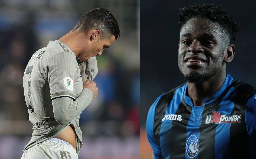 CR7 vs Duván Zapata