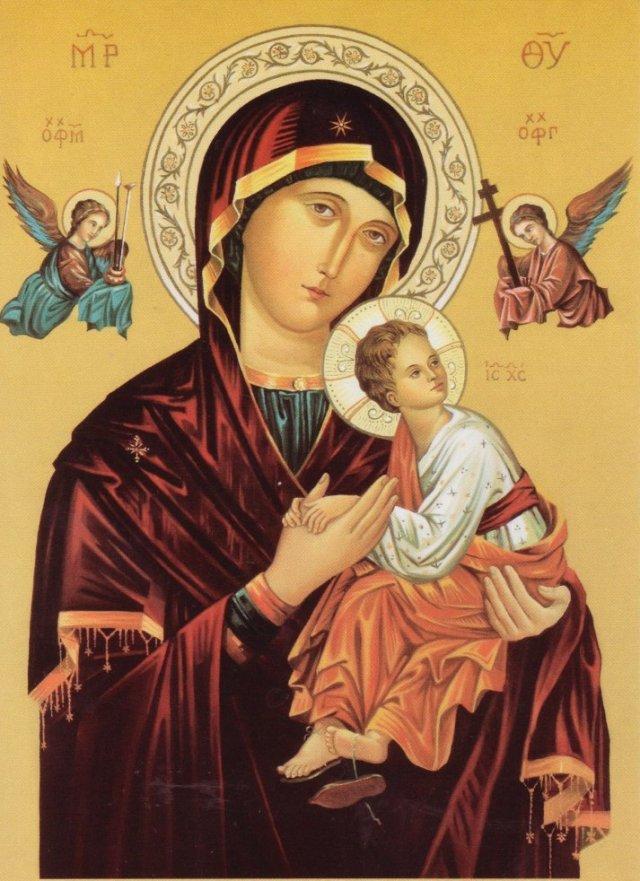 Ікона Матері Божої Неустанної Помочі © ФСЛ