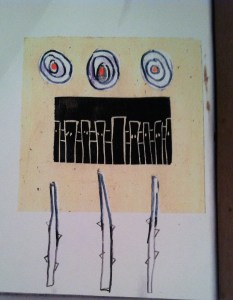 Annemarie Whilton's Sketchbook Project Drawing 2