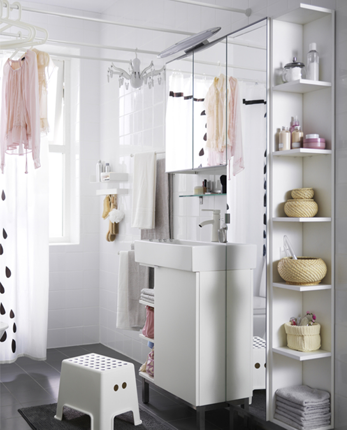 Ideas Bathroom Shelves