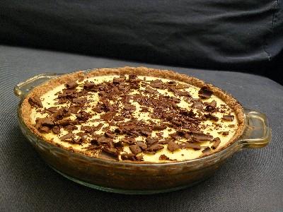 Lemon Chocolate Pie