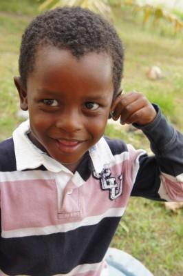 Heat, a local boy in Sambo Creek