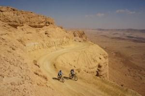 Winter in Israel - desert ride along the Ramon Cretor