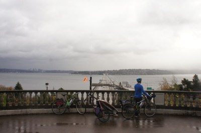 Lake Washington South Loop, over looking the highway