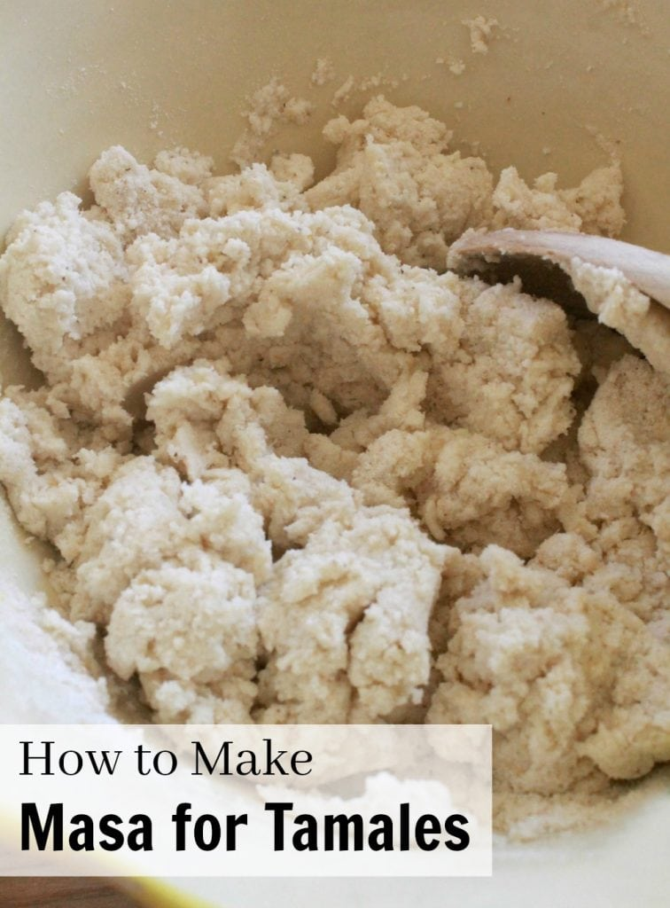 How to Make Masa for Tamales  VIDEO
