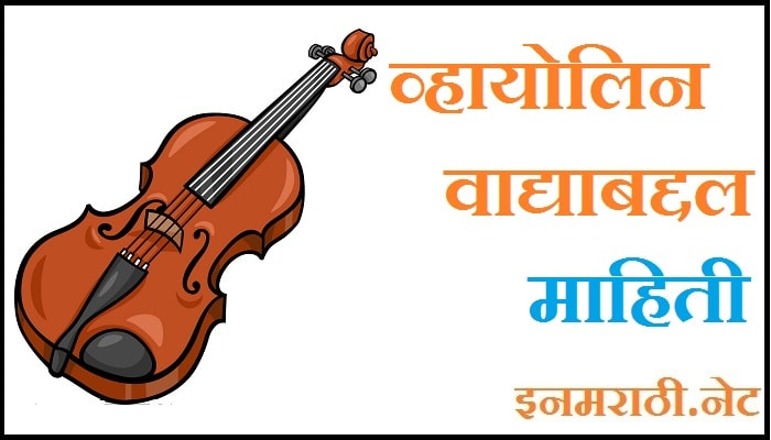violin information in marathi
