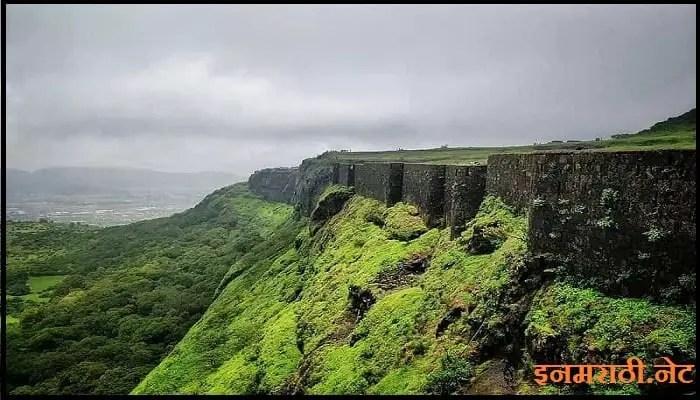 history of visapur fort in marathi