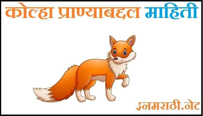 fox information in marathi