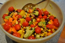 Barefoot Contessa Corn and Avocado Salad