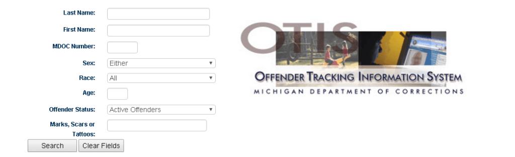Michigan Inmate Search  MI Department of Corrections Inmate Locator