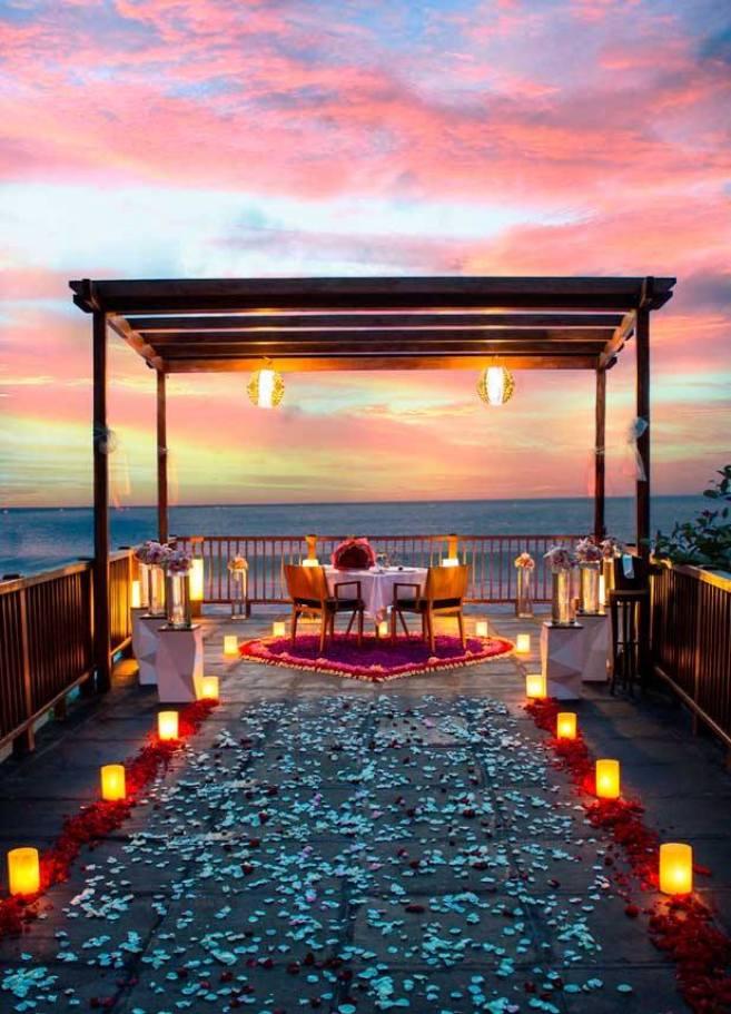 романтический вечер бали
