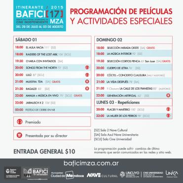 BAFICI Mendoza 2015