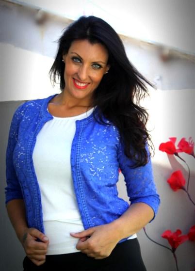 Mariana Petracca fue Miss Cuestión de Peso