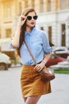 El cuero combina la elegancia y la frescura.