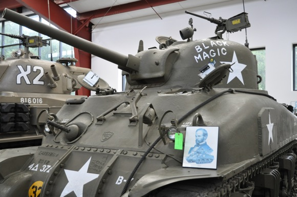 Sherman tank, part of Military Vehicle Technology Foundation collection