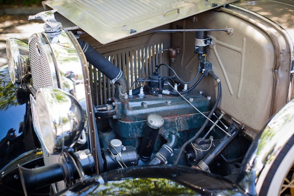 1930 Ford Model A engine