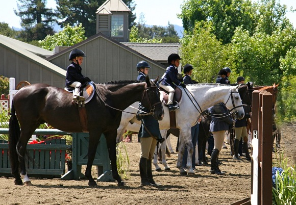 Lead line class, Menlo Charity Horse Show