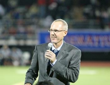 Principal Matt Zito of Menlo-Atherton High School