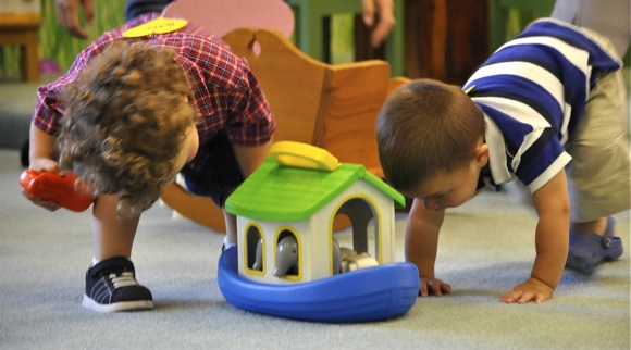 Toddlers at Child and Family Institute program