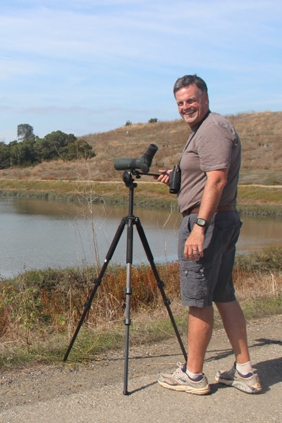 Rich Ferrick, bird enthusiast at Bedwell Bayfront Park